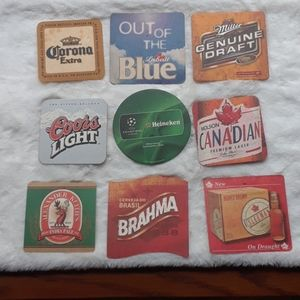 Free add bundle- beer coaster collection pk #1